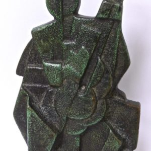 Cubist sculpture Jan et Joël Martel